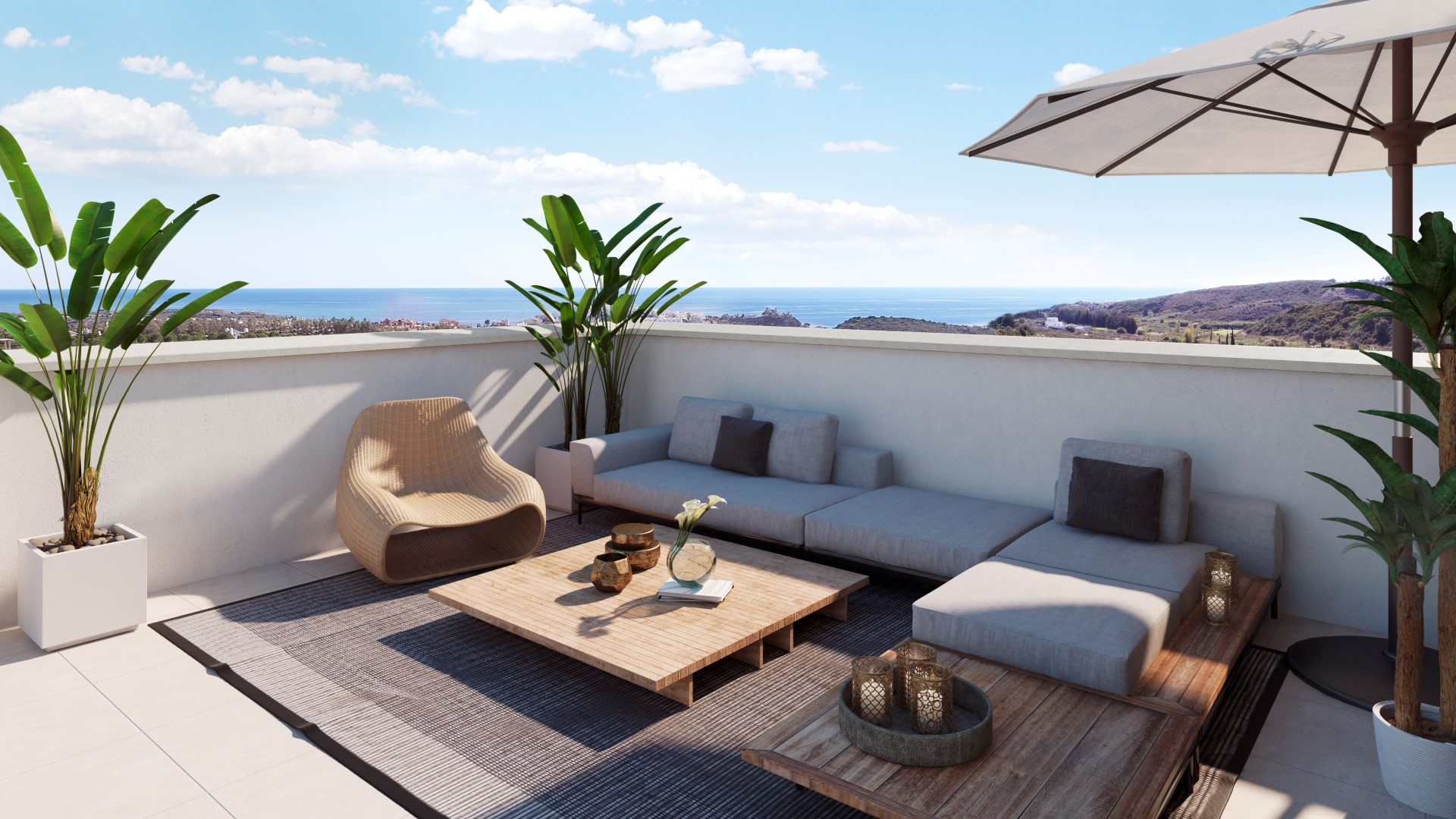 Apartments in Casares MA5289746
