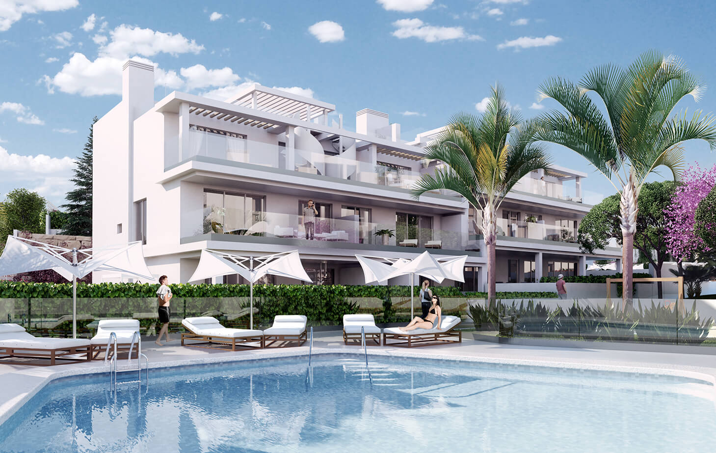 Apartments in Estepona MA6017191